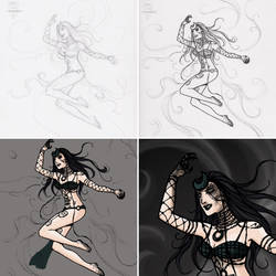TRDL Enchantress WIP by TRDLcomics