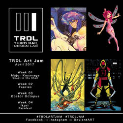 TRDL Art Jams - April 2017 by TRDLcomics