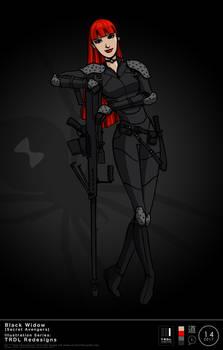 TRDL 2017 Series No. 14 - Black Widow Redesign