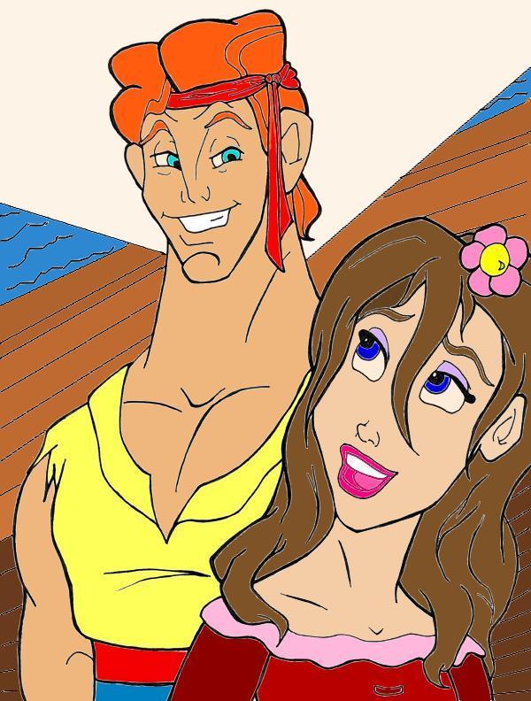 Herc and Jane by BlueEyedQueen