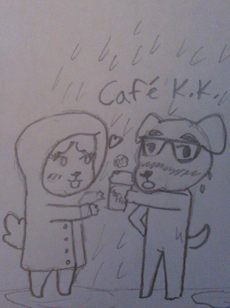 Animal Crossing New Leaf Isabelle Cafe