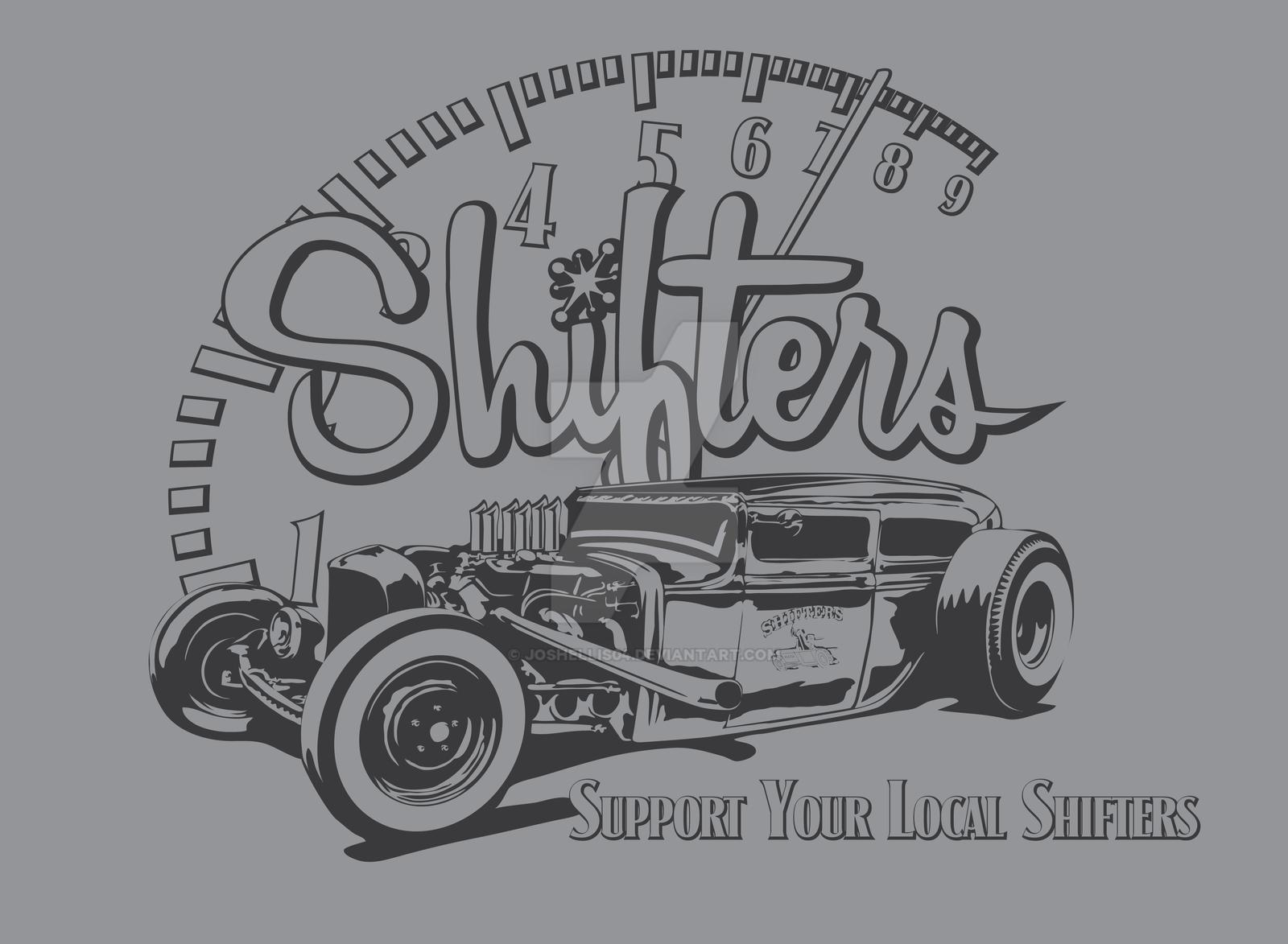 Design car club logo -  Shifters Car Club Supporter Design By Joshellis04