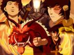 The Firebending Master