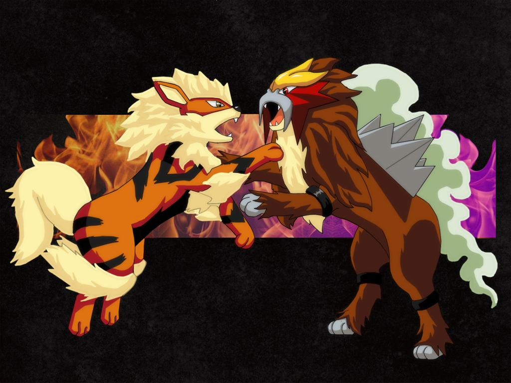 pokemon legendary dogs - HD1024×768