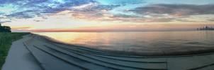 Lake Michigan Panorama
