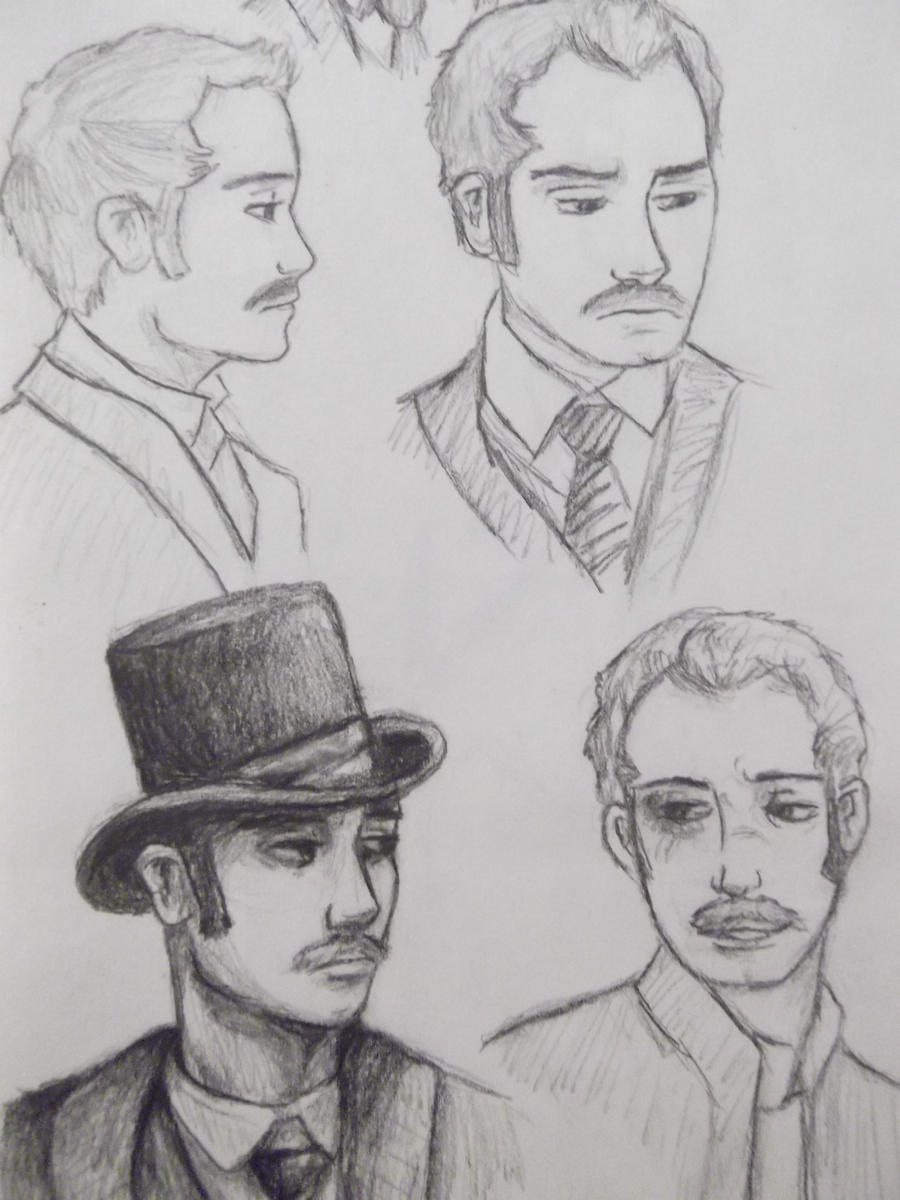 Watson Sketches by wolf-pirate55