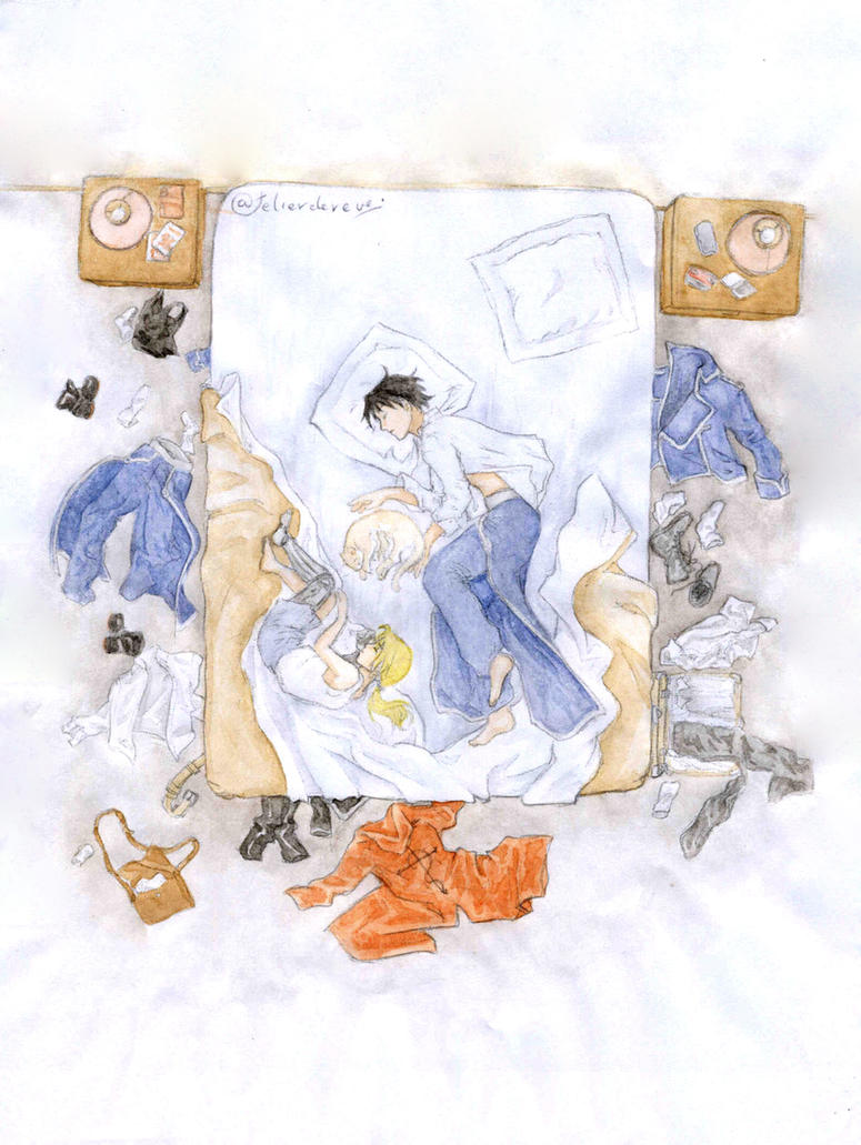 Ilix -chapitre 34 watercolour by Atelierdereve