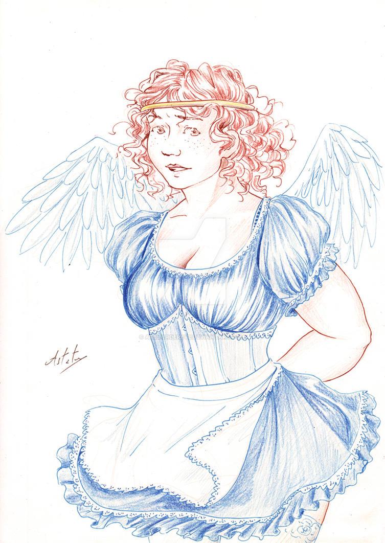 Roxane, the fallen angel by Atelierdereve