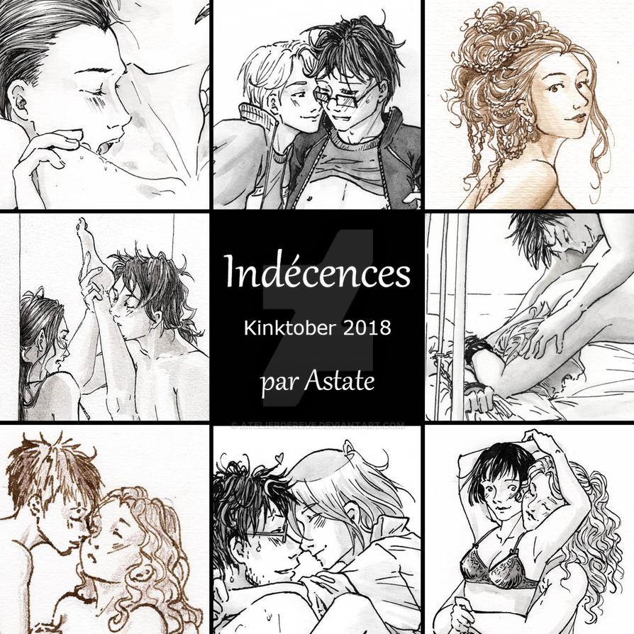 Indecences - Kintktober 2018 by Atelierdereve