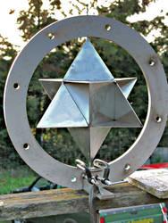 Star Tetrahedron Wind Spinner
