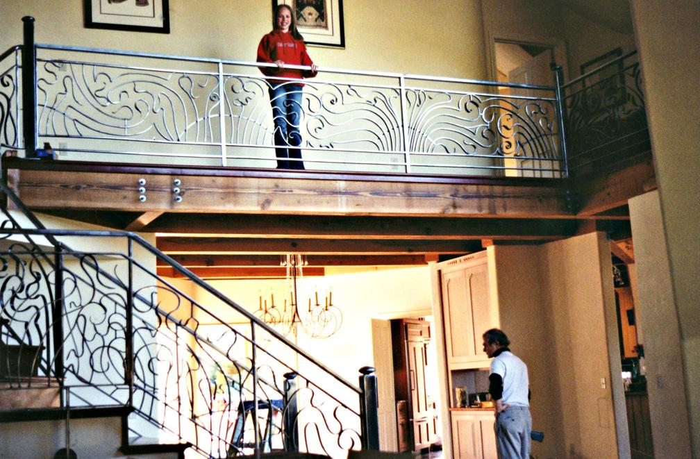 ArtNouveau Railing L residence by ou8nrtist2