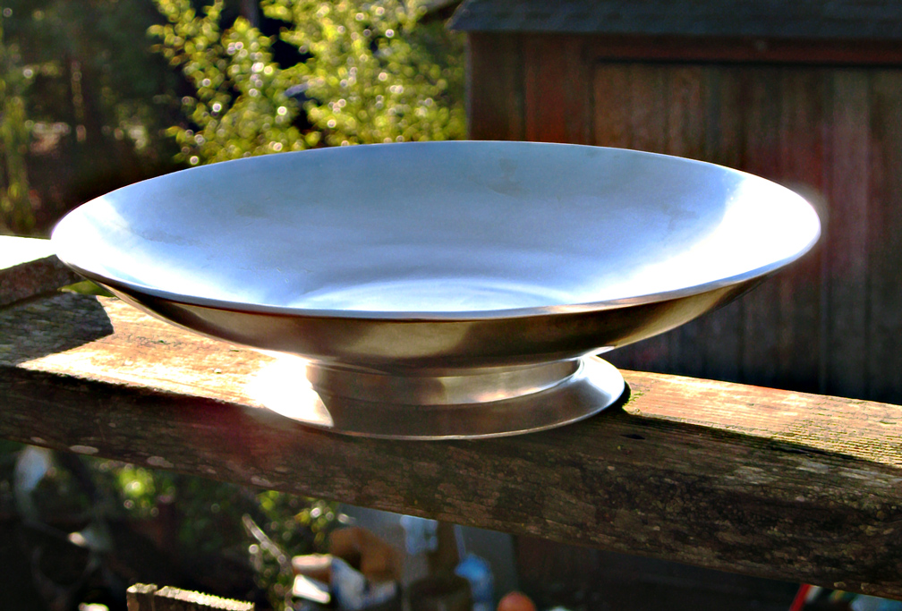Large Stainless Bowl by ou8nrtist2