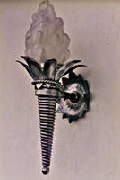 Victorian Wall Sconce by ou8nrtist2