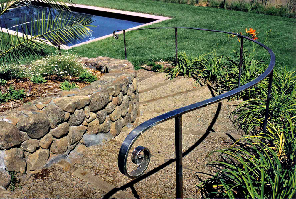Stainless pool railing by ou nrtist on deviantart