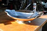 Crenelated Elliptical Fruit Bowl