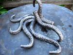 Octopus Tentacle Bathroom Towel Hooks