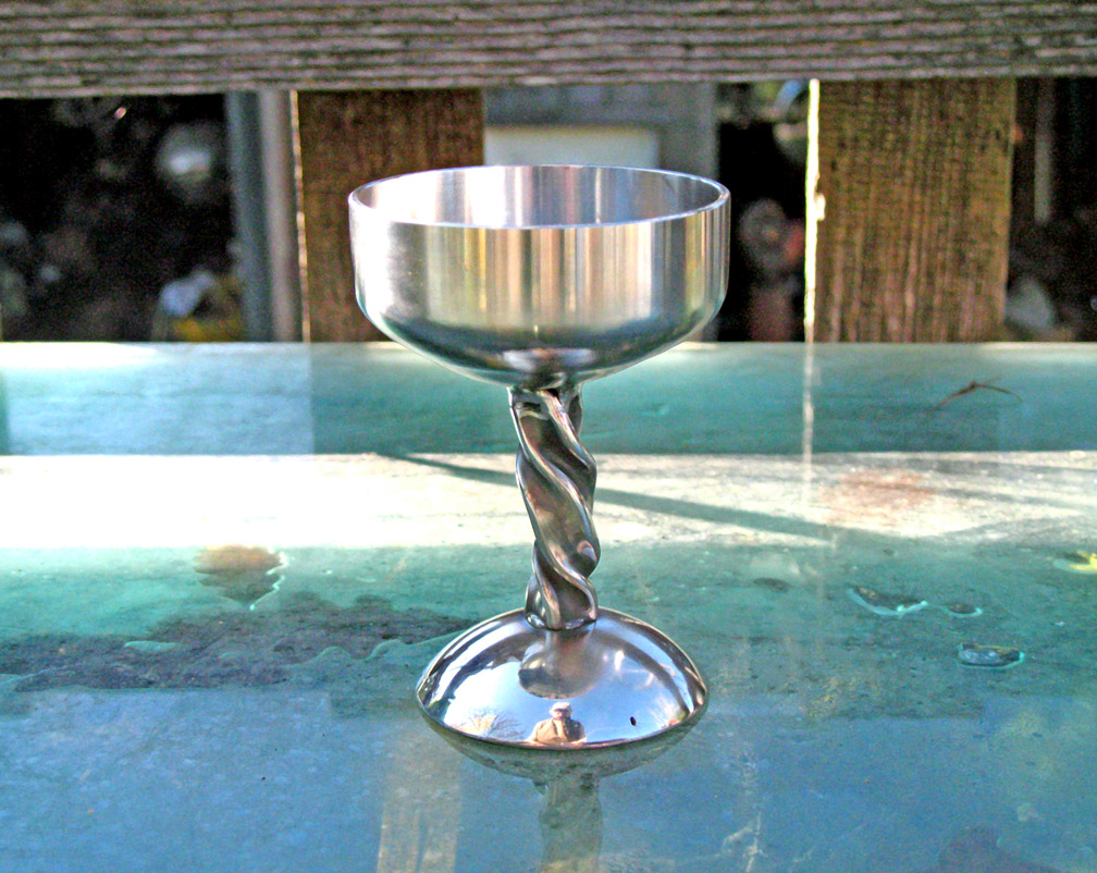 Stainless Steel Wine Goblet by ou8nrtist2