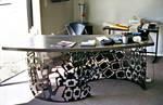 Laser-cut Office Desk