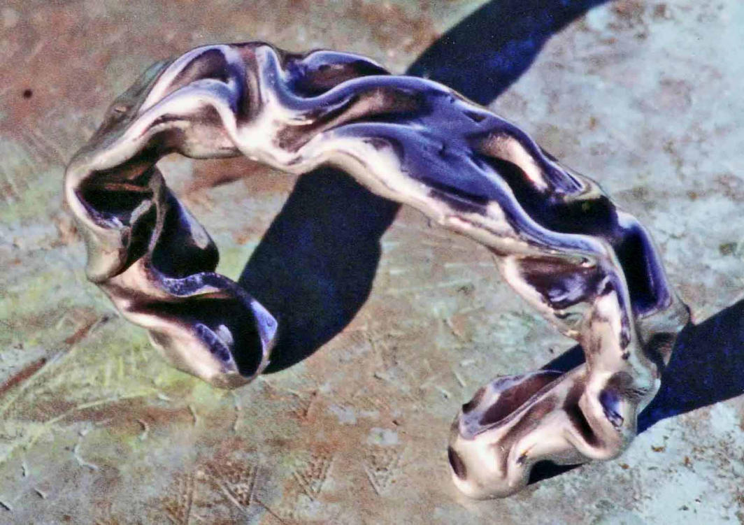 Hollow Forged Cetic Bracelet by ou8nrtist2