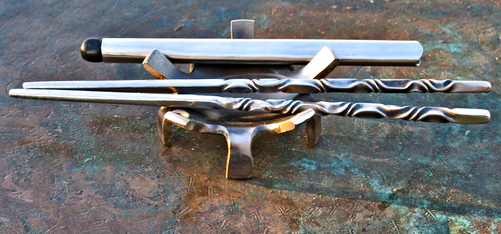 Stainless Steel Chopsticks by ou8nrtist2