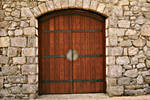 Entrance Door to Barrel Vault by ou8nrtist2