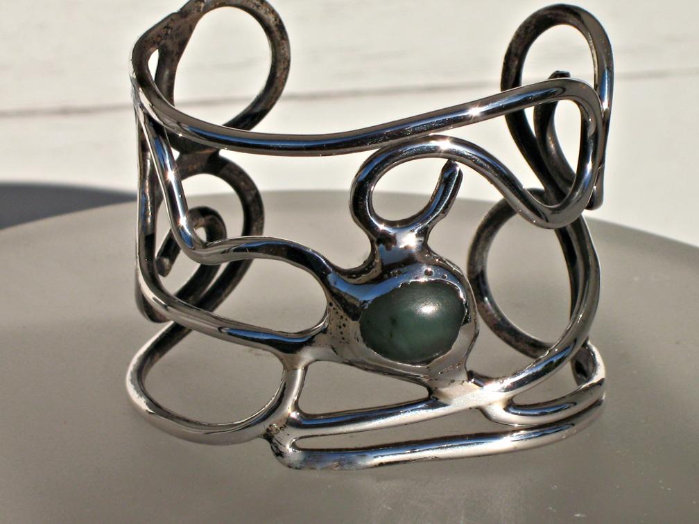 Sterling Silver Bracelet by ou8nrtist2