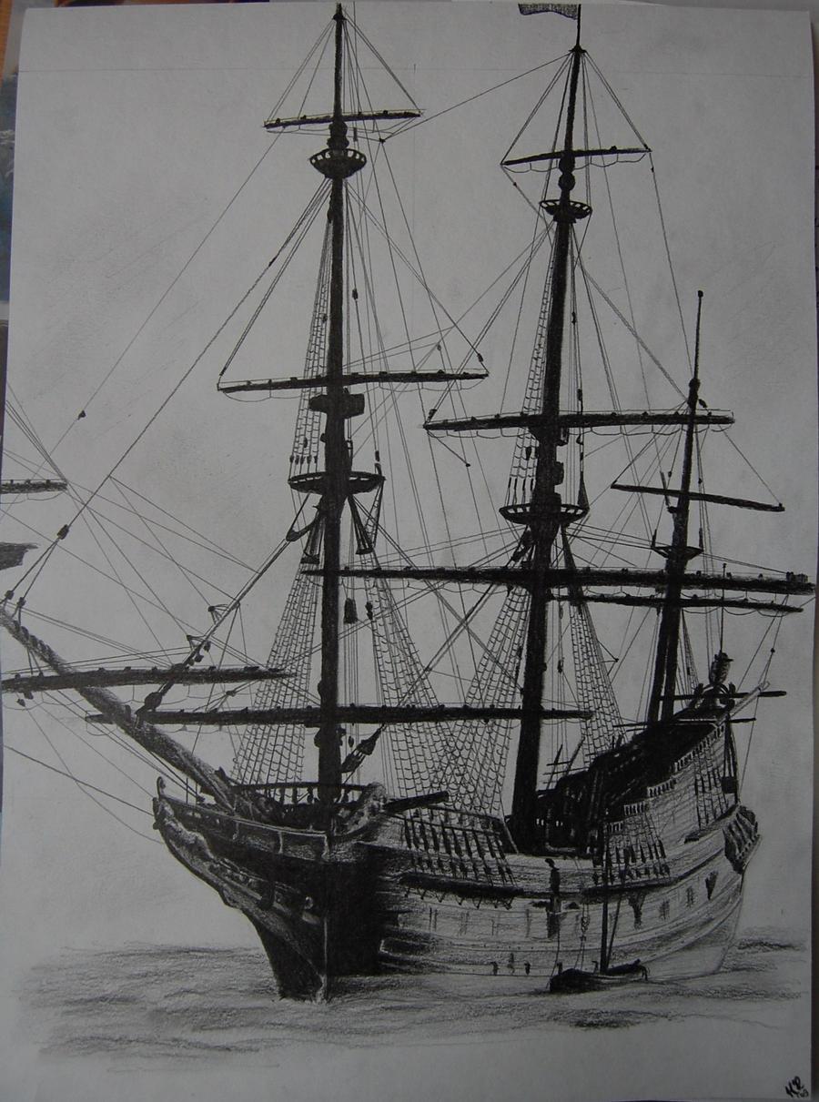 an old ship by rammsteinrulez on deviantart