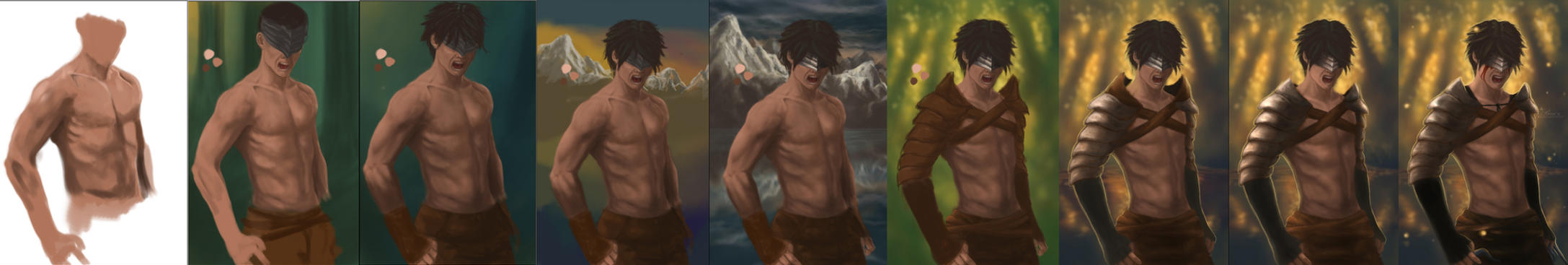 The Pain of Loss - step by step by Becso-dimension