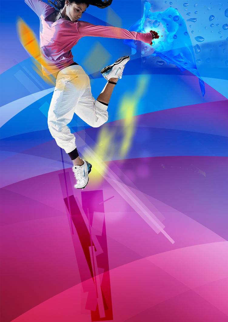 Poster zumba by jderengerve on deviantart for Buy art posters online