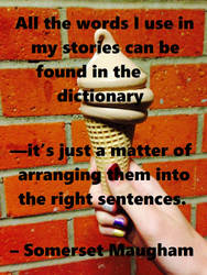 Somerset Maugham Quote by LAWritersLab
