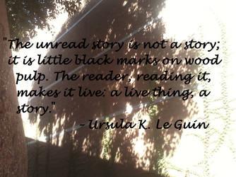 Ursula K. Le Guin Quote by LAWritersLab