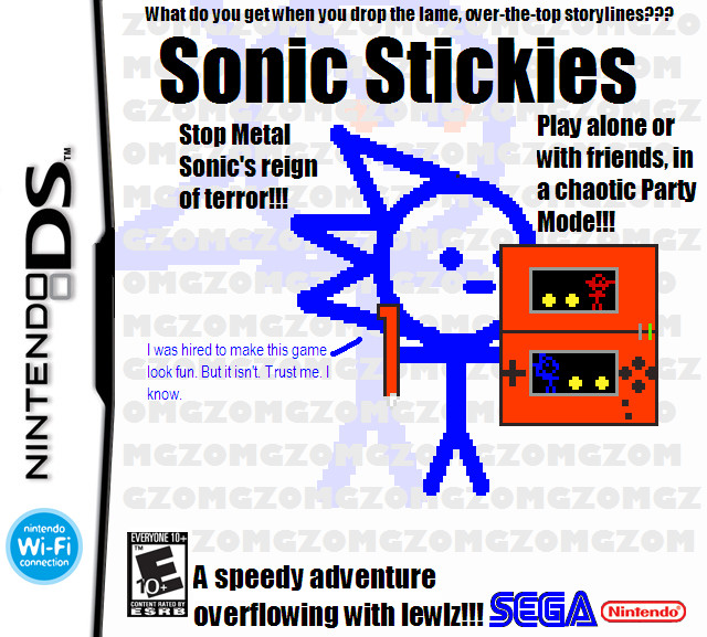 Sonic Stickies: The Videogame by Metallemmy