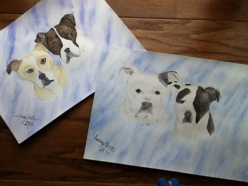 Four Pup Commission by RazorxBladexPhotos
