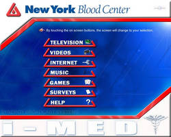 New York Blood Center screen by nathanielwilliam