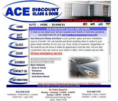 Ace Discount Glass Website by nathanielwilliam