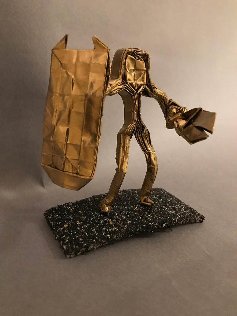 Golden Warrior by OrigamibyBoice