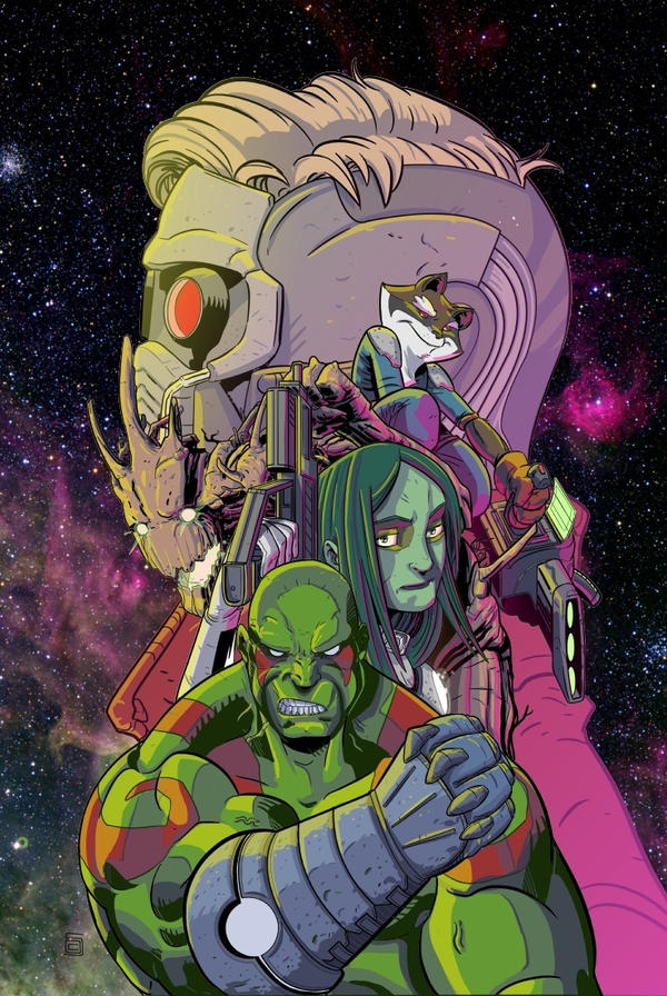 Guardians Of The Galaxy by COS1987