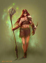 young shaman by TummyALot