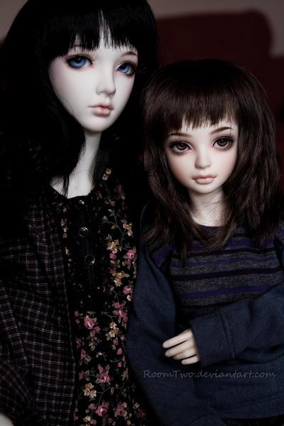 Sisters II by KarenBJD
