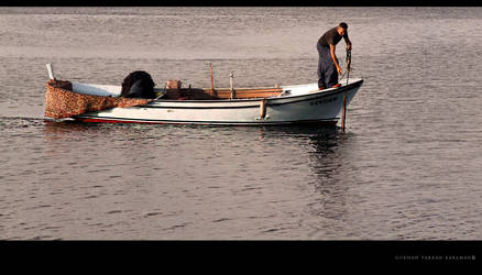Fisherman in the Dardanelles