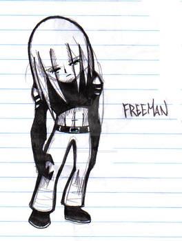 Freeman the man