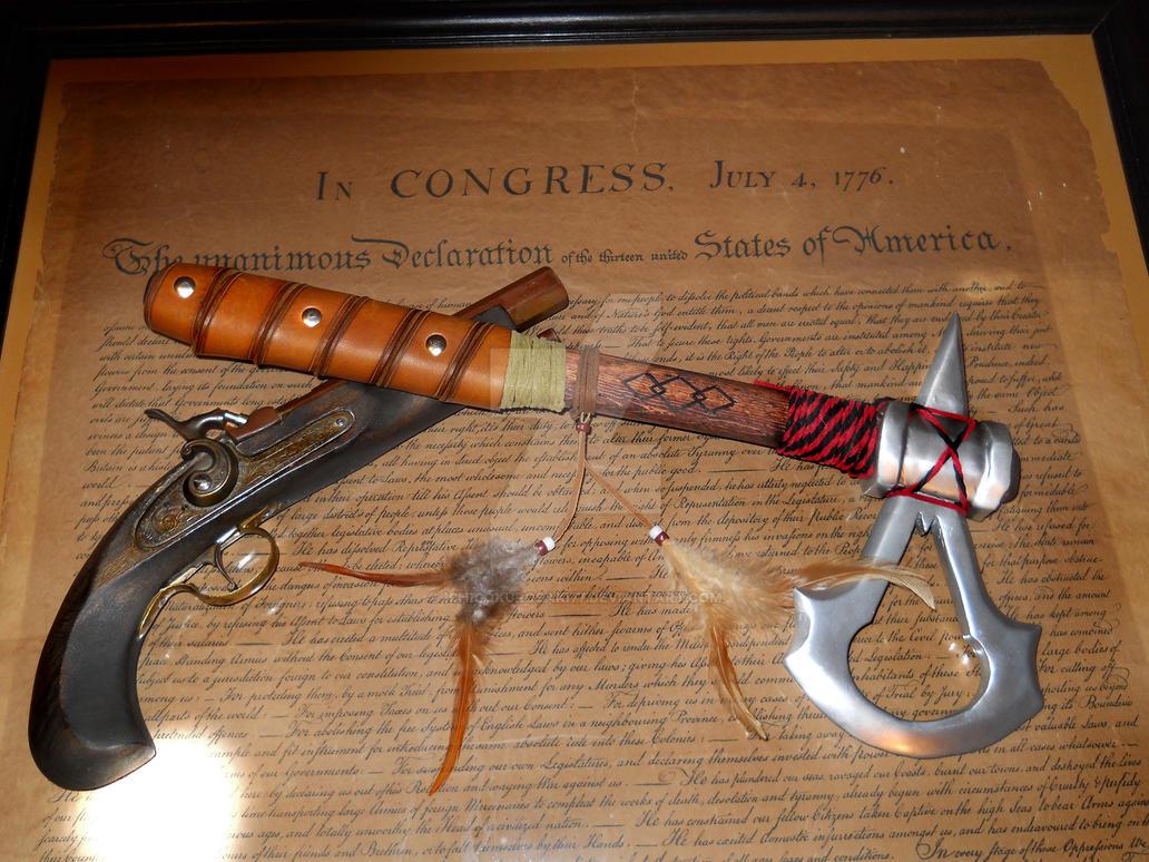 Assassin's Creed III Connor's Tomahawk. by IchigoKurosaki77