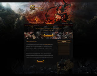 Continent of the Ninth Seal - Website Layout