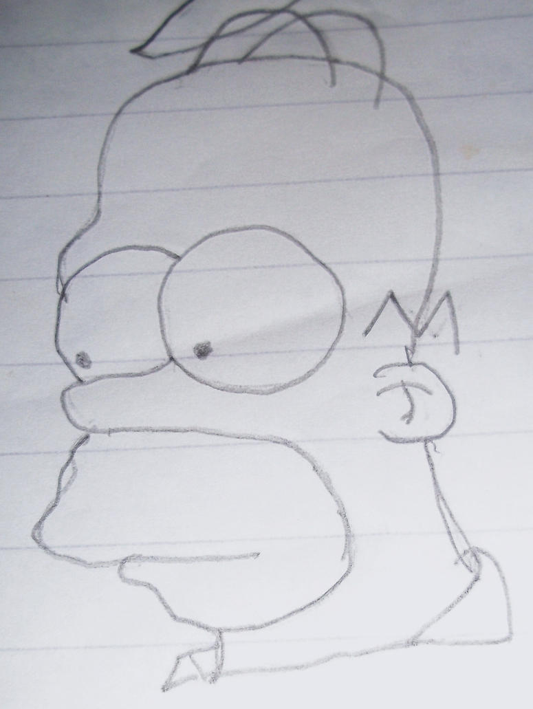 Homer Works Out And Doesnt Towel Off