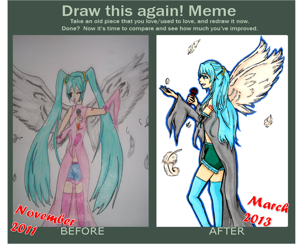 Draw This Again: Angel Voice by woostersauce