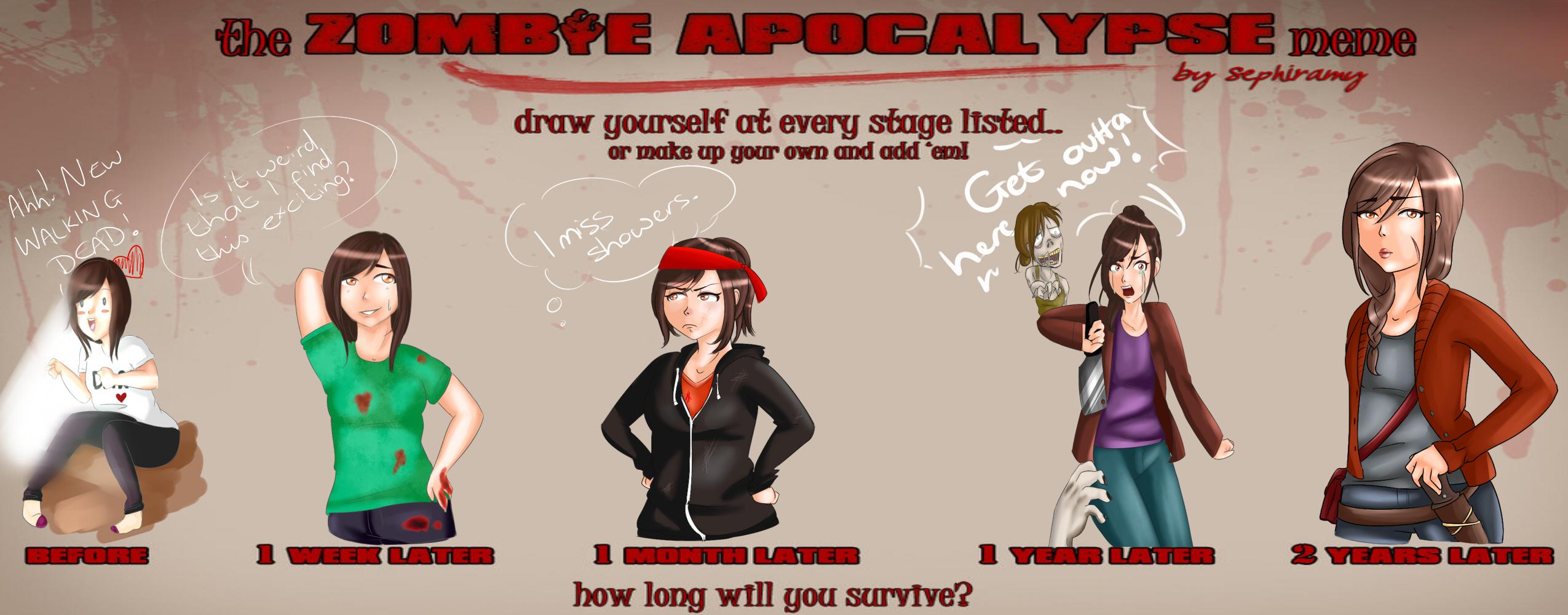 Zombie Apocalypse Meme Funny : Nazi zombie meme j by monochromey memes