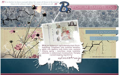 2 lata forum BB by ultraVioletSoul
