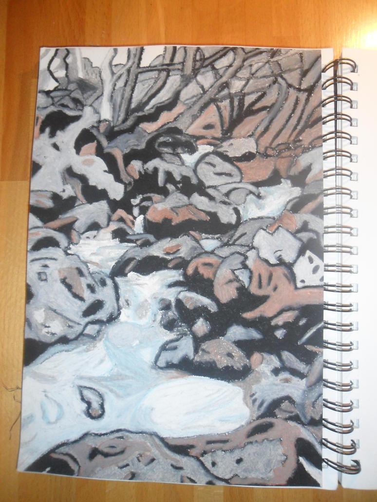 Steppingstone Stream by SamanthaHaf