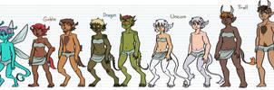 Color Blind Races by DruidTeeth