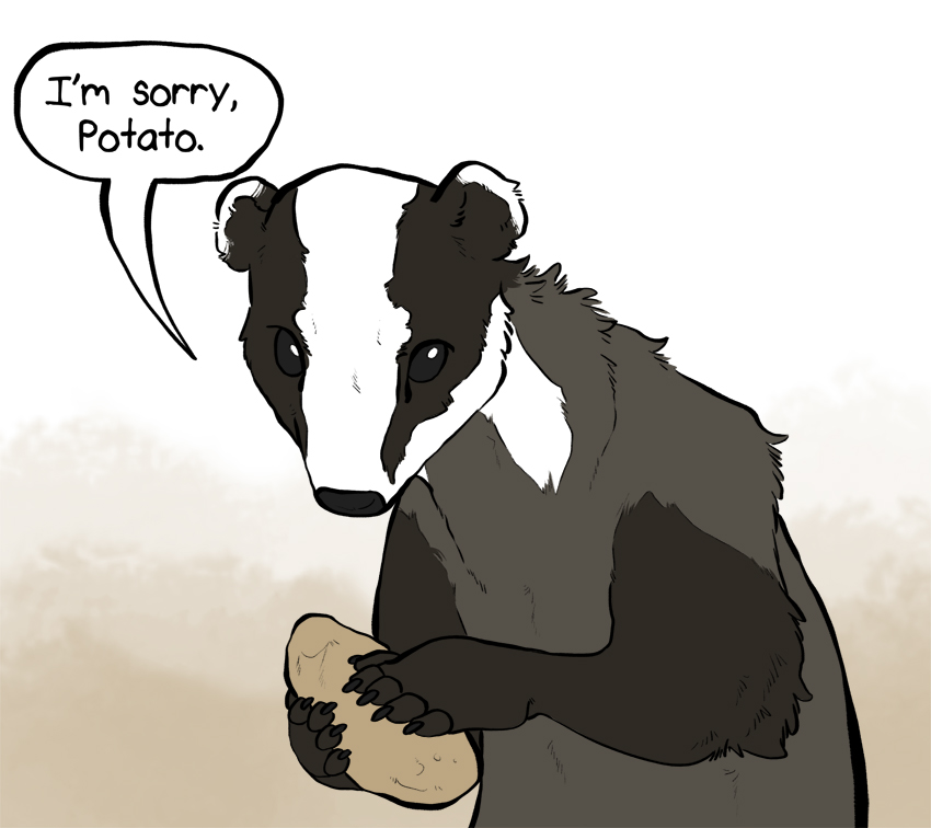Sorry Potato by DruidTeeth